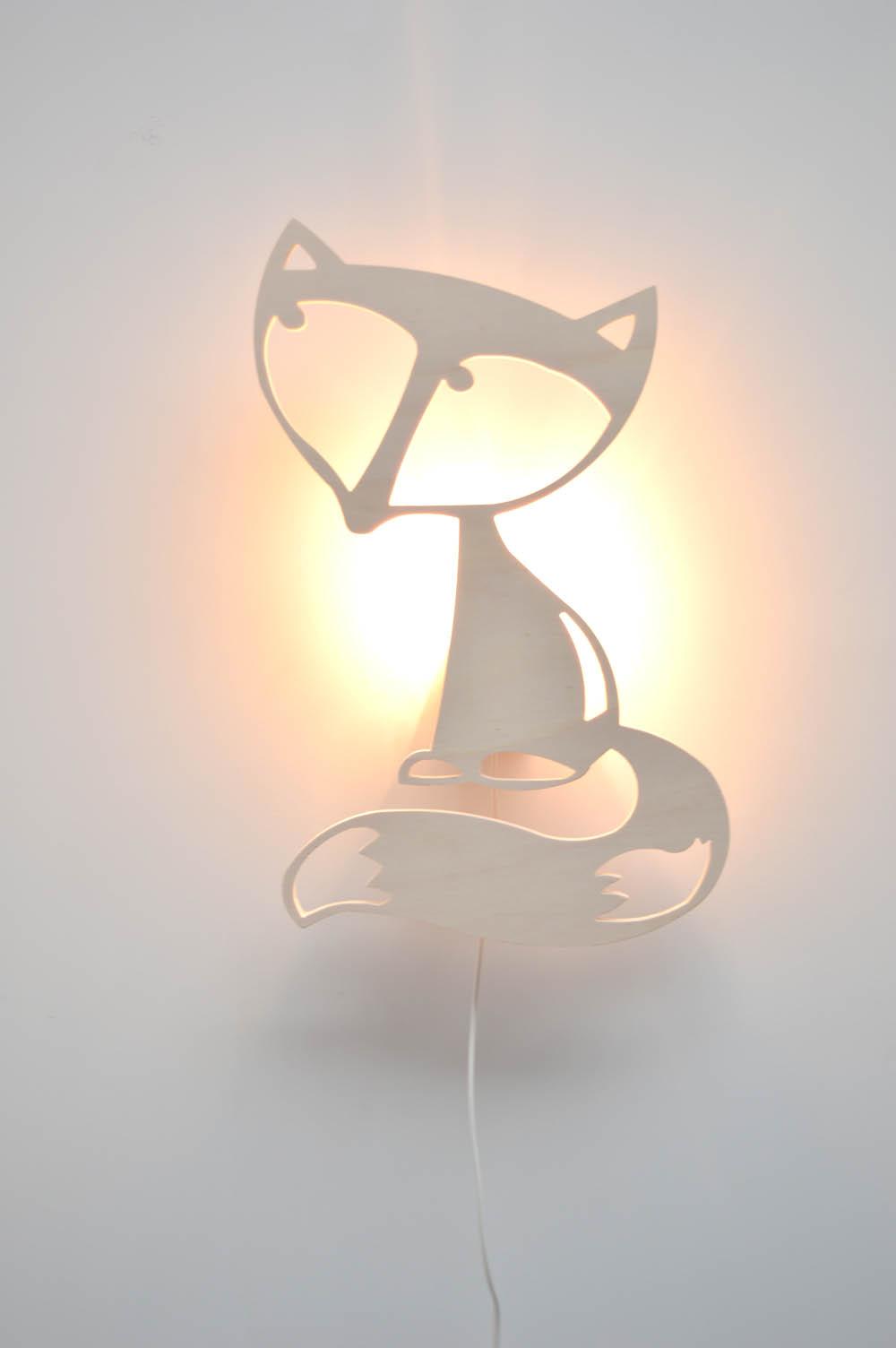 Wandlamp vos 02